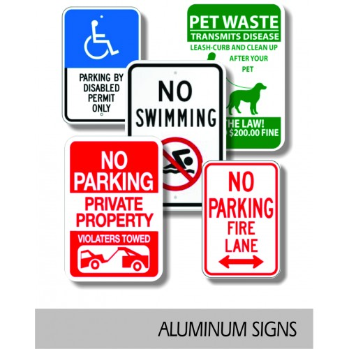 Aluminum Board Signs