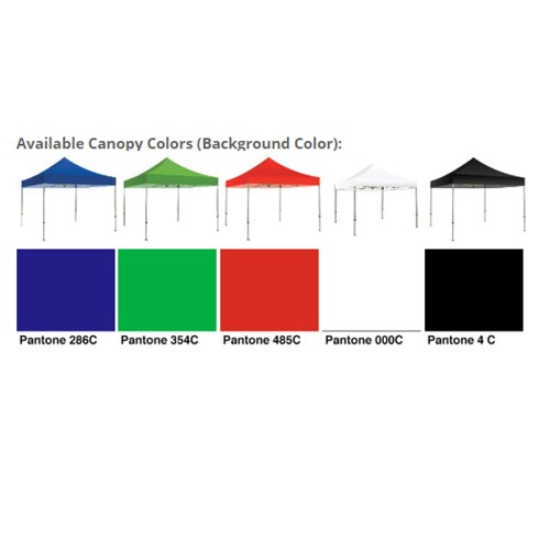 10 ft  Canopy No Logo Print Los Angeles | Stock Color Tent