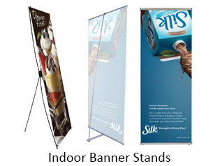 Indoor Banner Stands