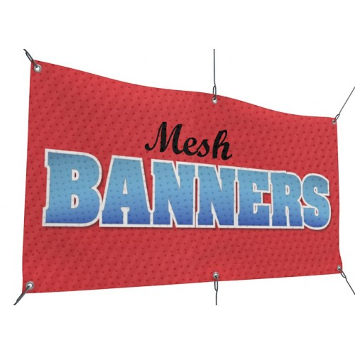 Mesh Banner Printing Los Angeles